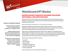 Datasheet: APT Blocker