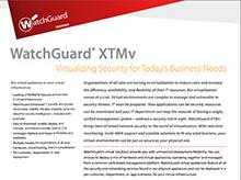 Datasheet: WatchGuard XTMv