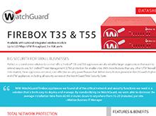 Thumbnail: Firebox T35 & T55 Datasheet