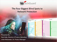 Webinar: The Four Biggest Blind Spots to Network Prod.