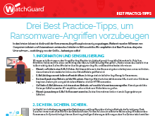 Ransomware: Best Practice-Tipps