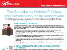 Ransomware: Consejos de mejores prácticas