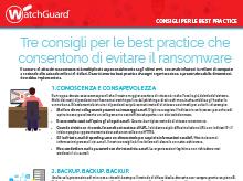 Ransomware: Consigli per le best practice