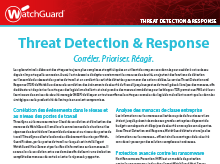 Brochure : Threat Detection and Response (TDR)