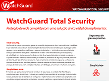WatchGuard Total Security: Assinaturas de UTM