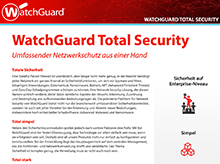 WatchGuard Total Security: UTM-Abonnements