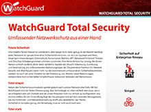 WatchGuard Total Security: UTM-Abonnements