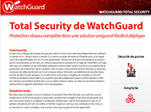 WatchGuard Total Security : Abonnements UTM