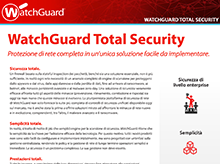 WatchGuard Total Security:Sottoscrizioni ai servizi