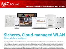 Lösungsbroschüre: Sicheres WLAN in der Cloud – WatchGuard