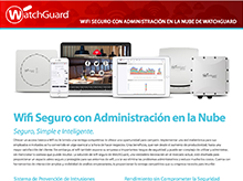 Folleto de la solución: WatchGuard Secure Cloud Wi-Fi