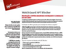 Miniatura: Folha de Dados do APT Blocker