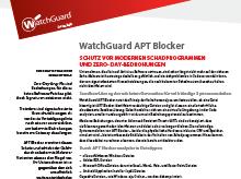 Datenblatt: APT Blocker