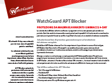 Datasheet: APT Blocker