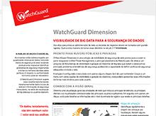 Folha de Dados: WatchGuard Dimension