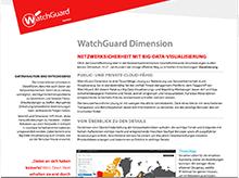 Datenblatt: WatchGuard Dimension