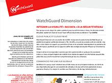 Fiche technique: WatchGuard Dimension