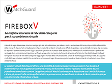 Datasheet: WatchGuard FireboxV