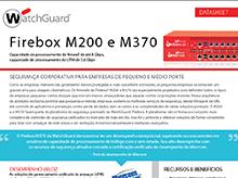 Folha de Dados: Firebox M200 e M370