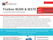 Thumbnail: Firebox M200 & 370 Datasheet