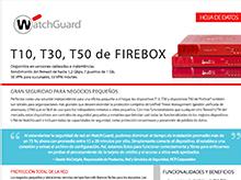 Hoja de datos de FireboxSerieT