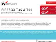 Datenblatt zur Firebox T35 und T55