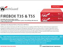 Datasheet: Firebox T35 e T55