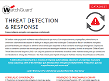 Folha de dados: Threat Detection and Response