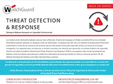 Hoja de datos: Threat Detection and Response