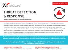 Hoja de datos: Threat Detection and Response
