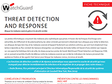 Fiche technique : Threat Detection and Response (TDR)