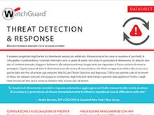 Datasheet: Threat Detection and Response