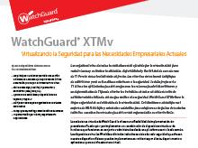 Hoja de datos:WatchGuard XTMv