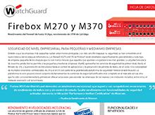 Hoja de datos: Firebox M270 y M370