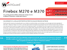 Datasheet: Firebox M270eM370