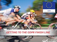 Anteprima:eBookGetting to the GDPR Finish Line (Raggiungere il traguardo del GDPR)