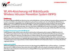 Kurzbeschreibung: WLAN-Absicherung mit WatchGuard