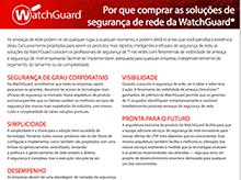 Matriz de produtos WatchGuard