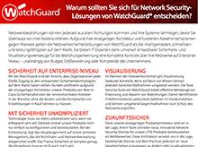 WatchGuard-Produktmatrix