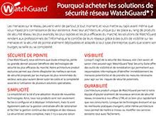 Matrice des produits WatchGuard