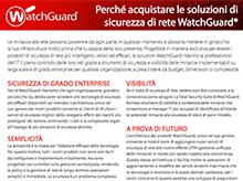 Matrice prodotti WatchGuard