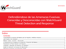 White Paper: Threat Detection and Response