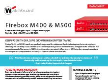 Datasheet: Firebox M440