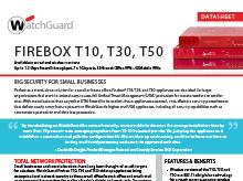 Thumbnail: Firebox T Series Datasheet