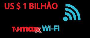 US $ 1 bilhão é o custo estimado da violação 2007 TJ Maxx Wi-Fi