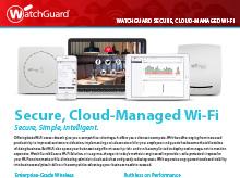 Thumbnail: WatchGuard Wi-Fi Brochure