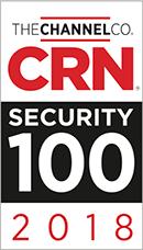 Logo: CRN Security 100 Award