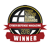 Cyber Defense Global Awards 2018, Catégorie MFA : AuthPoint, nommé Leader.