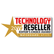 Technology Reseller Magazine - WatchGuard AP125 Wins Technology Reseller Editor's Choice Award