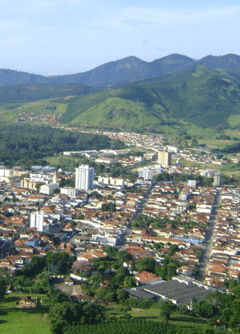 Photo of a city in Brazil